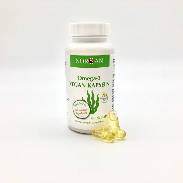 Omega-3 vegan Kapseln