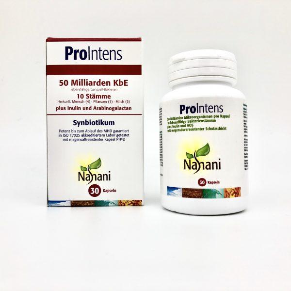 Pro Intens Probiotikum mit Karton