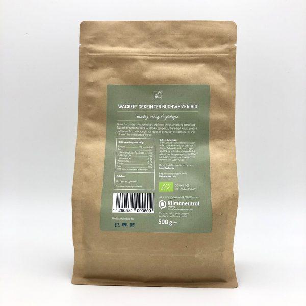 Wacker® Gekeimter Buchweizen Bio 2