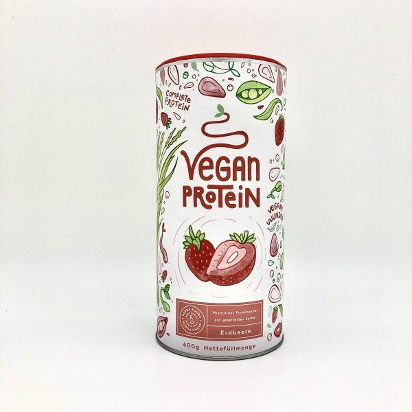 Vegan Protein Erdbeere