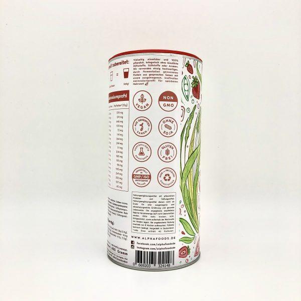 Vegan Protein Erdbeere 3