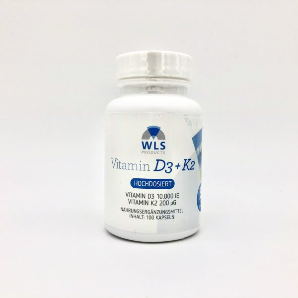 Vitamin D3 + K2 10.000 IE