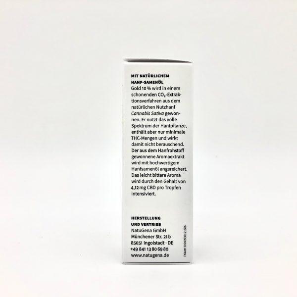 Hanf-Aromaextrakt Gold 10% 2