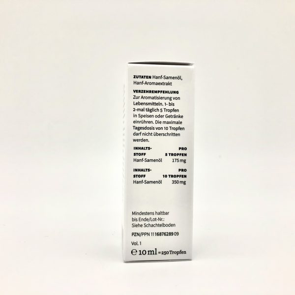 Hanf-Aromaextrakt Gold 10% 4