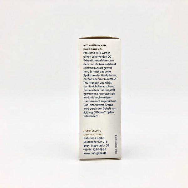 Hanf-Aromaextrakt ProCuma 20% 4