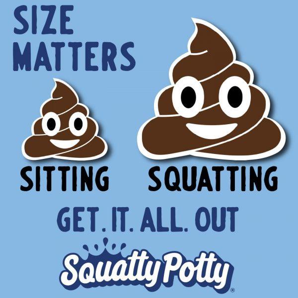 Squatty Potty Size Matters