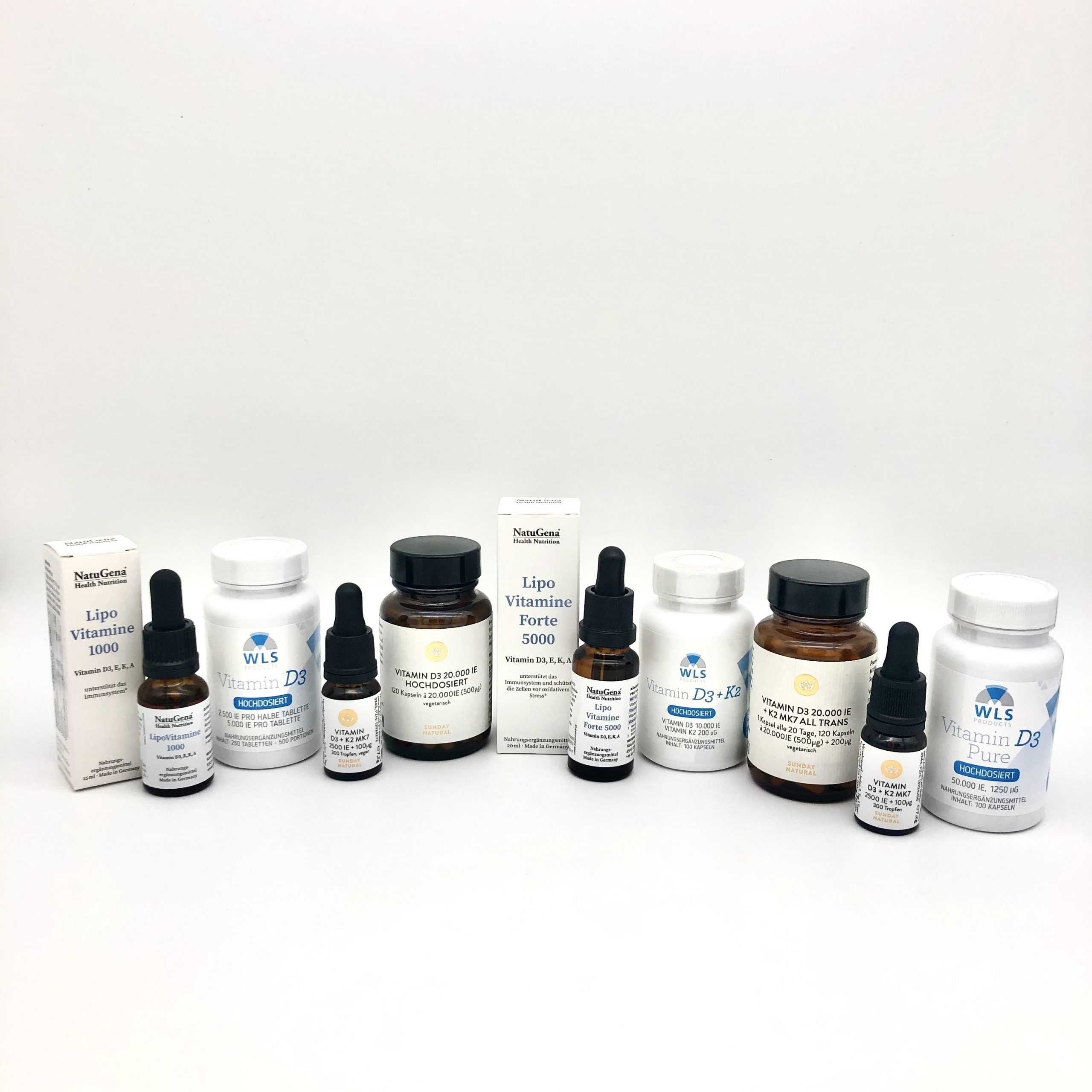 Vitamin D Präparate Shop
